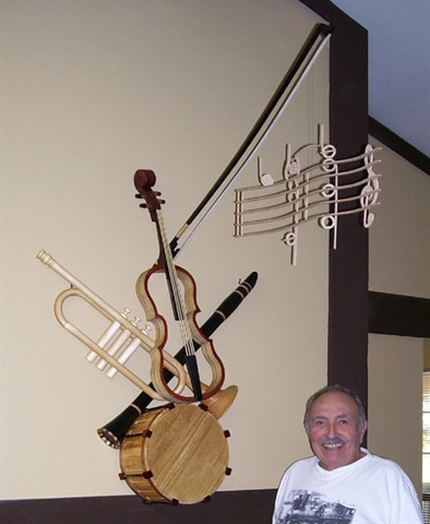 Artist in Wood - Murray Stein will showcase at the Frisco Mini Maker Faire April 26